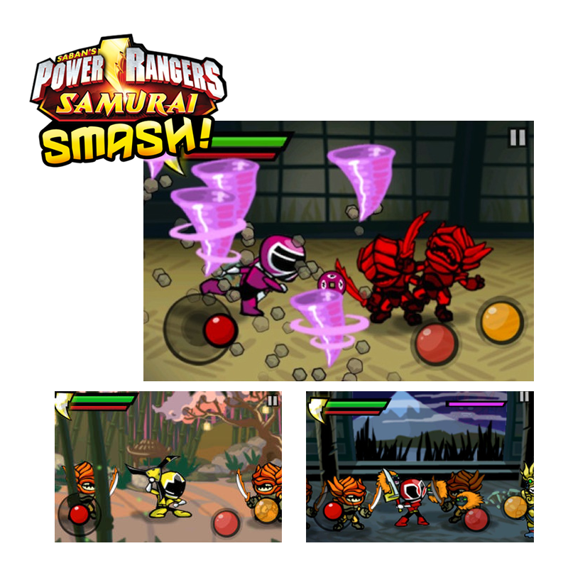Power Rangers Samurai Smash!