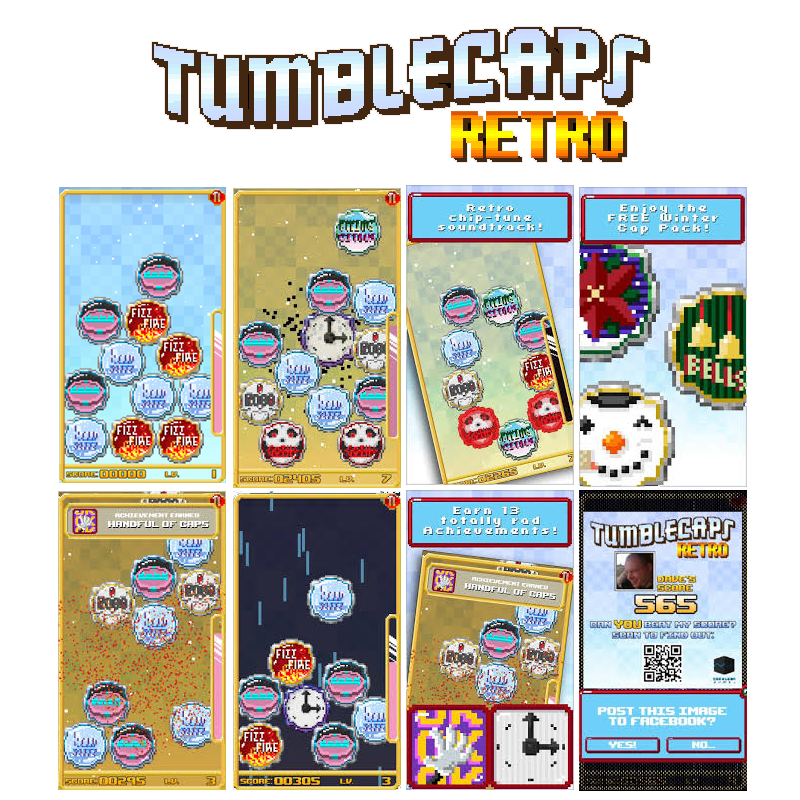Tumblecaps Retro